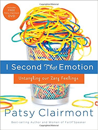 I Second That Emotion - Patsy Clairmont
