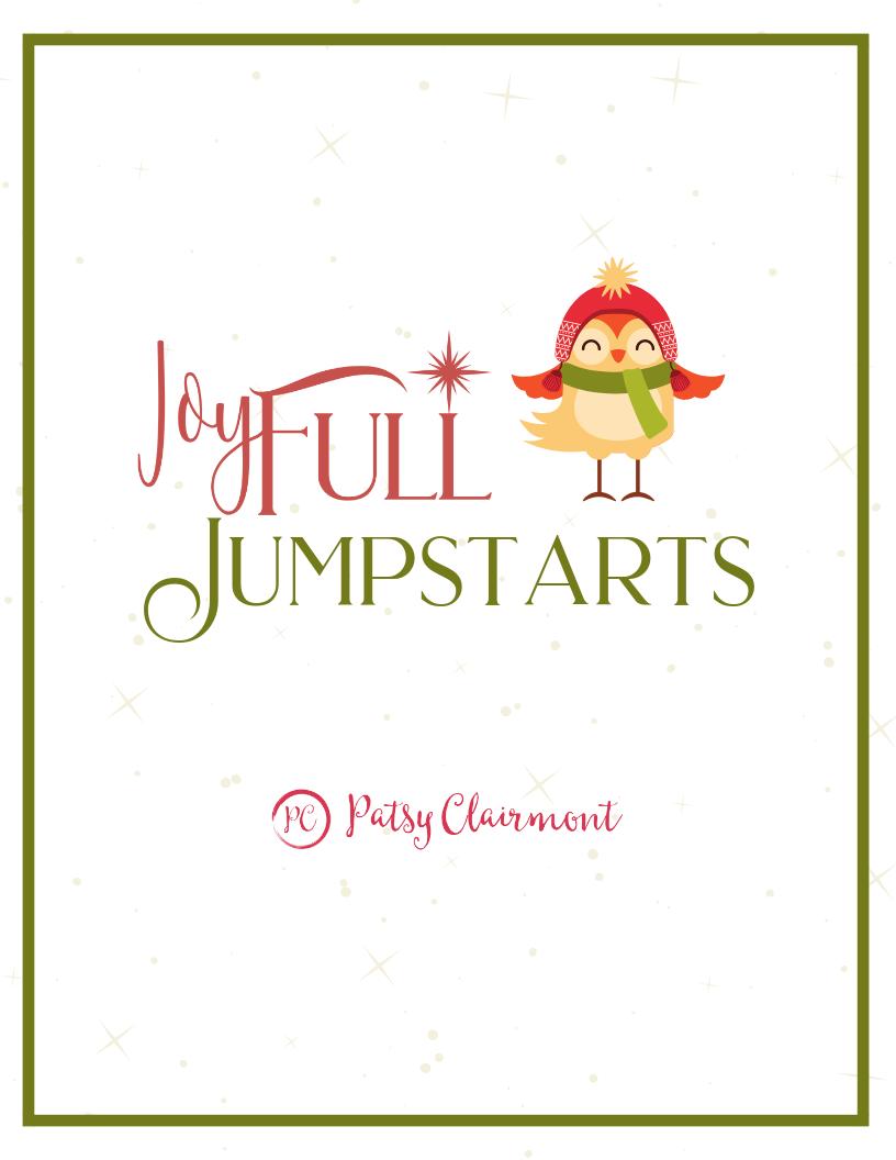 joyFULL Jumpstarts Promo Image- Patsy Clairmont